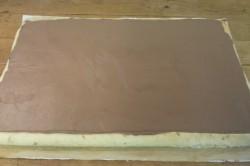 Příprava receptu Nejjednodušší čokoládová roláda, krok 7