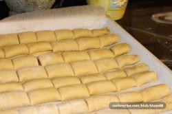 Příprava receptu Mini křupavé záviny plněné džemem, krok 4