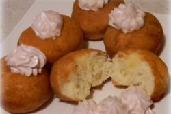 Příprava receptu Fantastické koblihy s jahodovou pěnou, krok 4