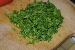 Příprava receptu Zeleninová polévka s kukuřičnými knedlíky, krok 3
