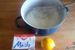 Příprava receptu Jednoduché citrónové řezy s bílou čokoládou, krok 7