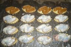 Příprava receptu Oválky s karamelovým krémem, krok 7